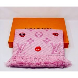 Louis Vuitton Logomania Lucky monogram scarfM76178